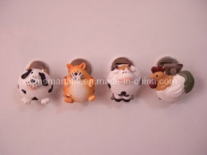 Poly Resin Animal Decoration Magnetic Clip pictures & photos
