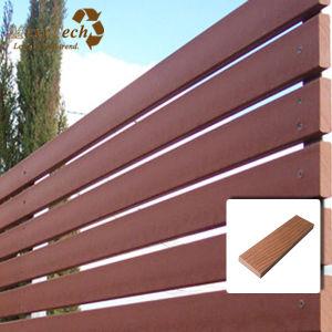 Mahogony WPC Wood Plastic Composite Fence pictures & photos