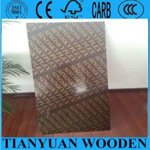 17.5mm Film Faced Waterproof Phenolic Plywood of Concrete Formwork pictures & photos