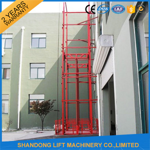 Warehouse Electric Goods Lift Elevator Hydraulic Cargo Lift Price pictures & photos