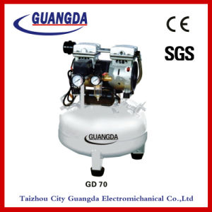 SGS CE 800W 35L 150L/Min Oil Free Air Compressor (GD70) pictures & photos