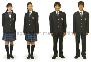 School Uniform for Boys and Girls (SCU17) pictures & photos