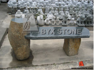 Natural Granite Stone Outdoor Park Bench for Garden Decoration pictures & photos
