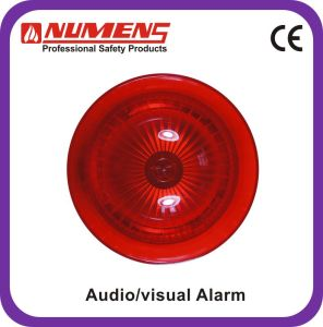 Fire Alarm Conventional Audio/Visual Alarm, Red Body (442-004) pictures & photos