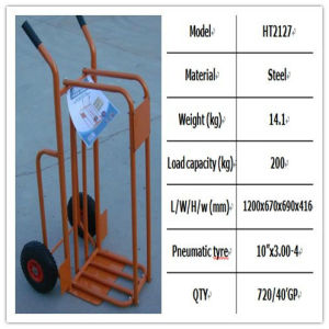 Hand Trolley (HT2127) for Wood Use pictures & photos