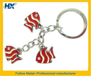 Key Ring with Fish Logo pictures & photos