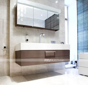 China Bathroom Furniture Modern Bathroom Vanity Hotel