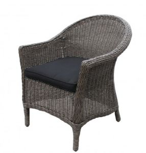 Garden Outdoor Patio Hotel Furniture Wicker Rattan Arm Chair
