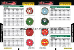 Cold Sintered Diamond Saw Blades for Marble, Granite, Concrete, Stone Material pictures & photos