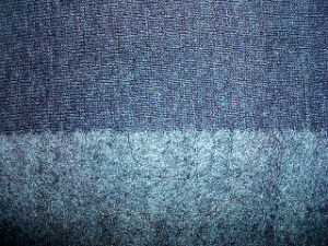 Hemp Recycle Polyester Blenched Jersey Knit Fabric pictures & photos