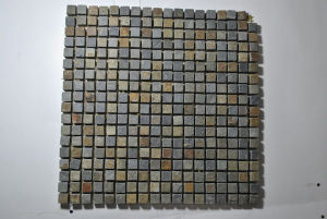Slate Mosaic Tile for Flooring pictures & photos