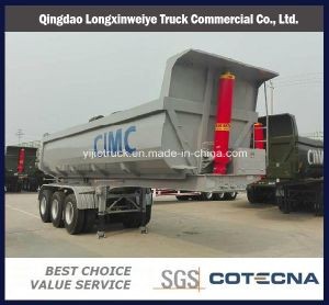 """Hot """"U""""Type Tipping Semi-Trailer with Front Lifting System pictures & photos"""