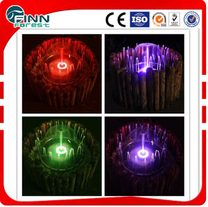 Small Garden or Home Decorative Indoor Garden Water Fountain with LED Colorful Light pictures & photos