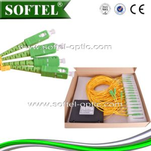 1X8 Fiber Optic PLC Splitter pictures & photos