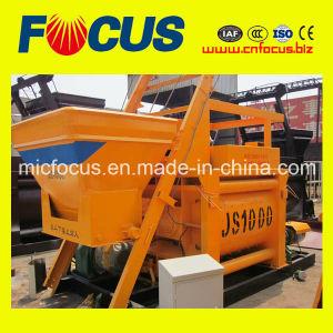 Good Mixing Quality Js1000 Concrete Mixer for Concrete Plant pictures & photos