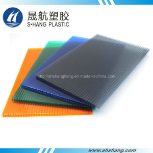 100% Bayer Polycarbonate Hollow PC Sheet with 50um UV Protection pictures & photos