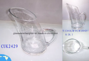 Hand-Made Clear Crystal Glass Tumbler Decanter (CUK2429) pictures & photos