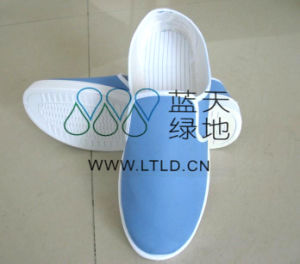 ESD Strip Shoe with Conductive Silk (LTLD308-4) pictures & photos