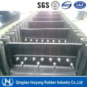 Tcs280 Rubber Cleated Sidewall Conveyor Belt pictures & photos
