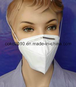 Non-Woven Earloop Unfold Face Mask pictures & photos