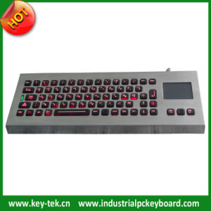 Sealed Touchpad Industrial Keyboard
