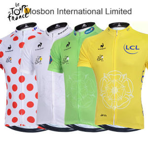 Quick Drying Fashion Cycling Jersey Short Sleeve pictures & photos