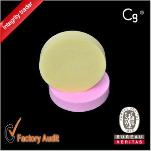Round Latex Face Cleaning Make up Sponge pictures & photos