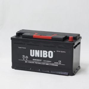Car Battery Heavy-Duty Truck Battery Auto Battery Mf 60038 Maintenance Free 12V100ah pictures & photos