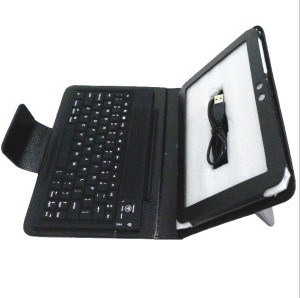 Keyboard with PU Leather Case for Universal Use 9.7-10.1 Inch Tablets