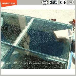 Screen Printing Tempered Anti Slipping Glass for Floor pictures & photos