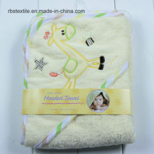 Animal Designs of Baby Hooded Bath Blanket Bath Towel pictures & photos