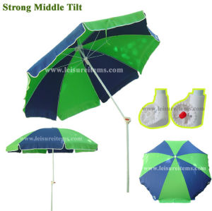 Strong Tiltable Beach Umbrella with Special Teeth Tilt (OCT-BUPTT02) pictures & photos