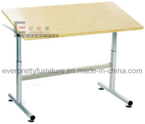 Durable Adjustable Wooden Drafting Table in School Furniture pictures & photos
