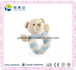 Certification Approved Cute Plush Baby′s Handbell Bear Toy pictures & photos