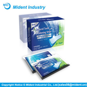 Dental Whitening Kit Mint Flavor Teeth Whitening Strips pictures & photos