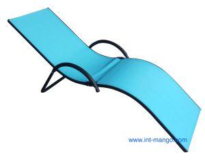 New Design Textilene Folding Reclinning Beach Chair (MW11030) pictures & photos