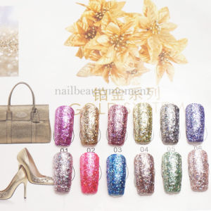 Art Nail Beauty Glitter UV Gel Polish 12 Colours (UG31) pictures & photos