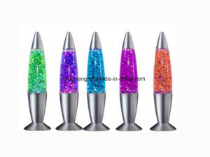 Clear Liquid Lava Lamp - Original Classic Design Silver Base - Modern Mood Light pictures & photos