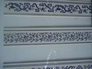 Emin Nano Glass Artificial Stone Bathroom Waist Line Ceramic Tile pictures & photos
