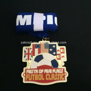 Custom International Football Club Medals for Awards pictures & photos