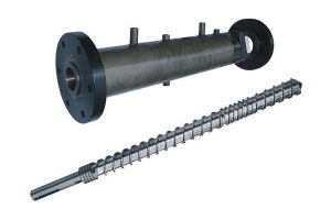 Nitriding Screw Barrel for Rubber Extruder pictures & photos