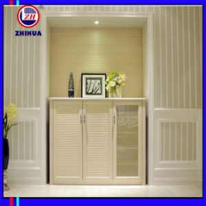 PVC Shoes Cabinet for Home Furniture (FY056) pictures & photos