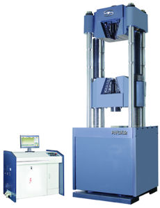 Servo Hydraulic Universal Testing Machine WAW-1000D pictures & photos