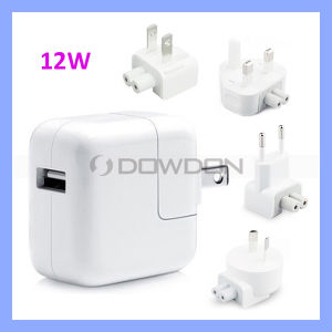 Us/UK/EU/Au for Apple 12W USB Power Adapter Wall Charger pictures & photos