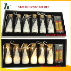 Glass Bottle with LED Light pictures & photos