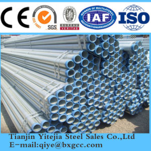 Hot Sell Galvanized Steel Pipe From Tianjin Q345 pictures & photos
