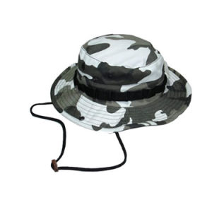 Gray Camouflage Jungle Hat (JRB006) pictures & photos