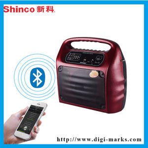 Hot Sale Best Gifts Fitness Audio Leather Speaker pictures & photos
