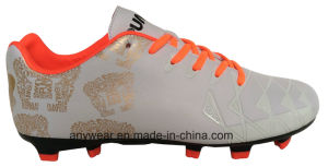 China Men Outdoor Sports Football Boots Soccer Shoes (815-5355) pictures & photos