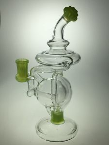 Hottest Glass Pipe Borosilicate Glass Smoking Pipe 7mm pictures & photos